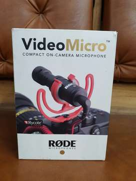 3000 only Rode VideoMicro Compact On-Camera Microphone