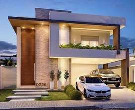 1350SqFt villa for sale with 5 cents land