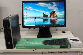 HP Compaq Elite 8300  cpu dual core 3rd gen 4 GB ram and 250 GB HDD