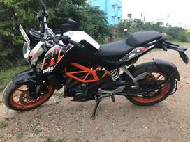 KTM 390  good condition for sale