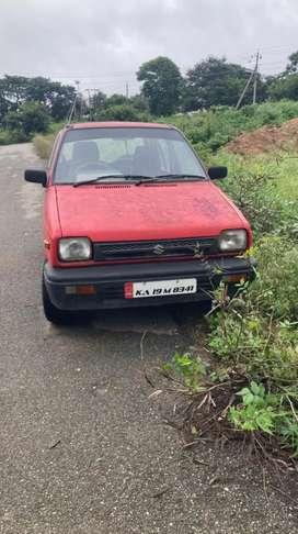 Maruti Suzuki 800 1996