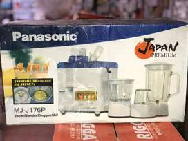Panasonic 4 in 1 Blender, Juicer, Mill, Chopper Japan Premium – NewBox
