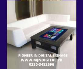 Touch Screen Coffee Tables - Digital Signage - Corporate Furniture