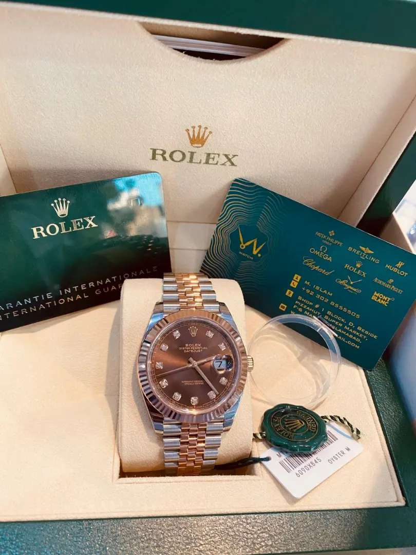 Rolex datejust 41mm new collection available only on W.Watch 0