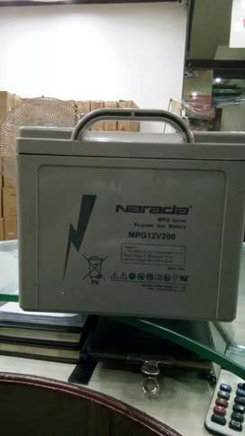 Narada battery are available in best price MPG and Ag