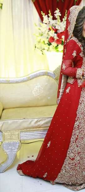 Only one time used bridal lehnga .