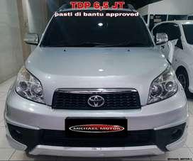 Toyota Rush DP4.5 Jt S AT TRD 2014 Paling Murah BAN BARU 99%