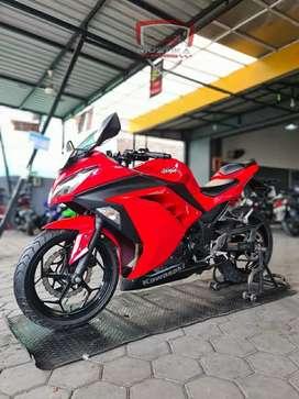 Kawasaki Ninja fi 250 Pmk 2017 Odo15rb Merah Istimewa William Mustika