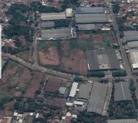Tanah & Bangunan Pabrik di Kawasan Industri Cikupa Mas