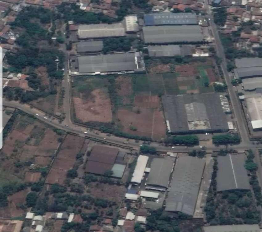 Tanah & Bangunan Pabrik di Kawasan Industri Cikupa Mas 0