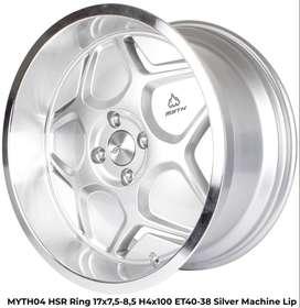 spesial MYTH04 HSR R17X75/85 H4X100 ET40/38 SML