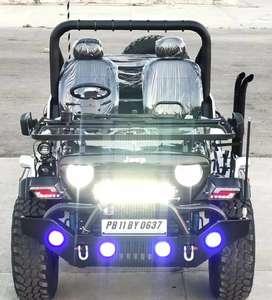Modifed jeeps open Jeeps Hunter