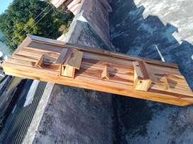 Aquarium teak wooden cap available at wholesale rate