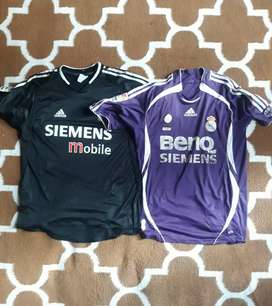 Jersey real madrid away classic