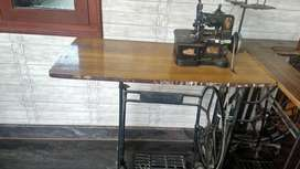 Sewing (Stitching) Machines and Garment Cutting Table For Sale