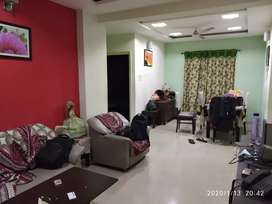 Furnished 3bhk. 2 bedrooms occupied, 1 vacant. Available from 3rd Feb