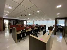 100 Sits Furnished office  on rent in Mahape at Rupa Solitair