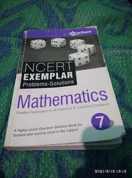 NCERT exampler problems- Solutions 7 class