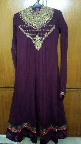Embroidered frock for sell