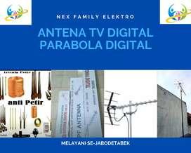 Specialist Jasa Pemasangan Sinyal Antena Tv Outdoor Anti Bintik