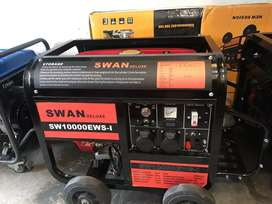 Brand New Box Packed SWAN 6 KW Rated 99% Copper Generators