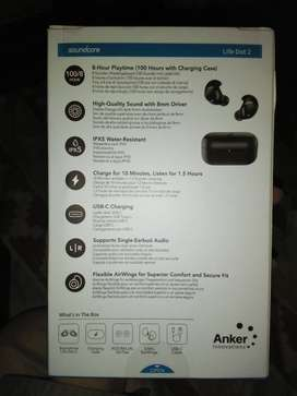 Anker Soundcore Life Dot 2 TWS Earbuds, 100 Hour Playtime, 8 Hours