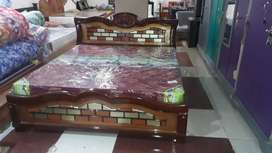 Brand New Teak Wood Cot For Sale (Queen Size)