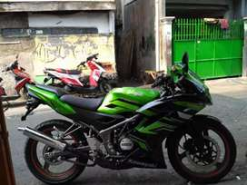 Kawasaki ninja rr new 150 th 2015 istimewa pajak panjang