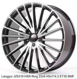 model Langgur JZ5319 HSR buat alphard ring22x9 pcd5x114,3