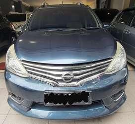 Nissan Grand Livina HWS Matic A/T 2013 Biru Murah, DP Minim