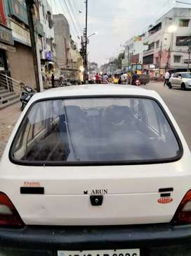 Hi I want to sell my maruti 800