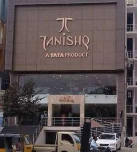 URGENT HIRING IN TANISHQ SHOWROOM FOR RECEPTIONIST & FRONT OFFICE PROF