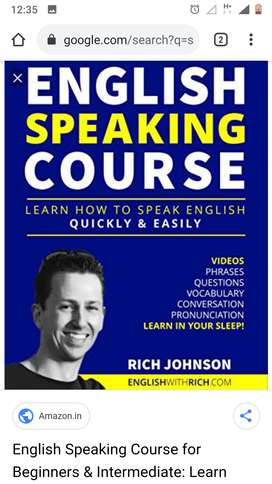 Spoken English course at your door step