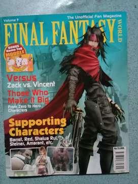 Jual majalah Hotgame spesial Final Fantasy World vol. 9