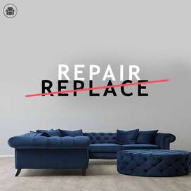 BRAND NEW SOFA AND SOFA REPAIRING SERVICES AT YOUR DOOR STEP.