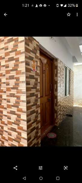 Ready to move in, 1 BHK House for rent in Malleswaram