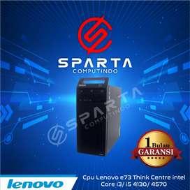 PC lenovo tower core i3 4130 second
