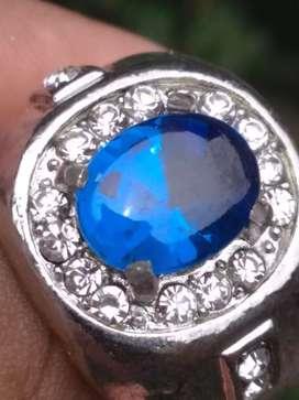 Jual cincin blue safir