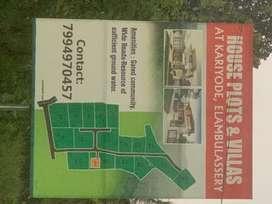 House plots for sale at Kariyode, Elambulassery