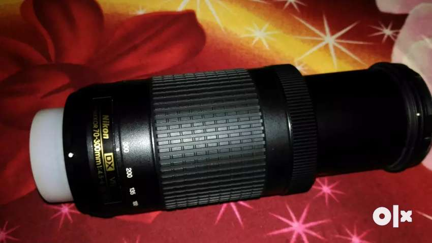 Nikon AF-P 70-300mm Zoom lens in good condition 0
