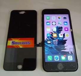 Lcd Touchscreen Iphone 7G Hitam Putih + Pasang