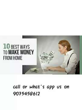 Earn unlimited & get money from home