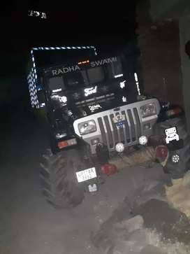 Jeep thar good condition new rgistrastion new bolero engine