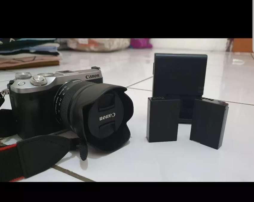 Kamera Mirrorless Canon EOS M6 Silver 0