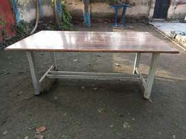 Tables Big size(6 tables) Iron Frame with Sheet