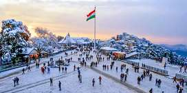 Summer Special Offer On Shimla was declared as the summer capital ..