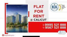 3 BHK Furnished Flat for rent at near MIMS Hospital, Calicut.