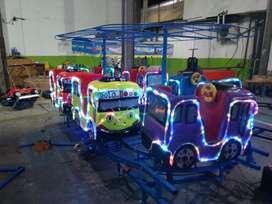 kereta Tayo bus kecil wahana paket mewarnai odong 2 Laris DO64