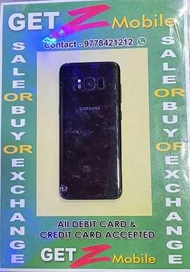 Samsung Galaxy S8 MidnightBlack
