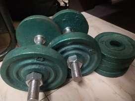 Dumbles two set 25 kg RS.2500